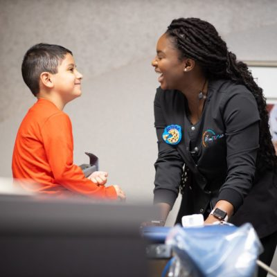 Patient Candids MyKidsDDS Dallas TX Dentist 3 400x400 - Common Questions About Pediatric Dentistry | Dallas, TX | myKIDSdds