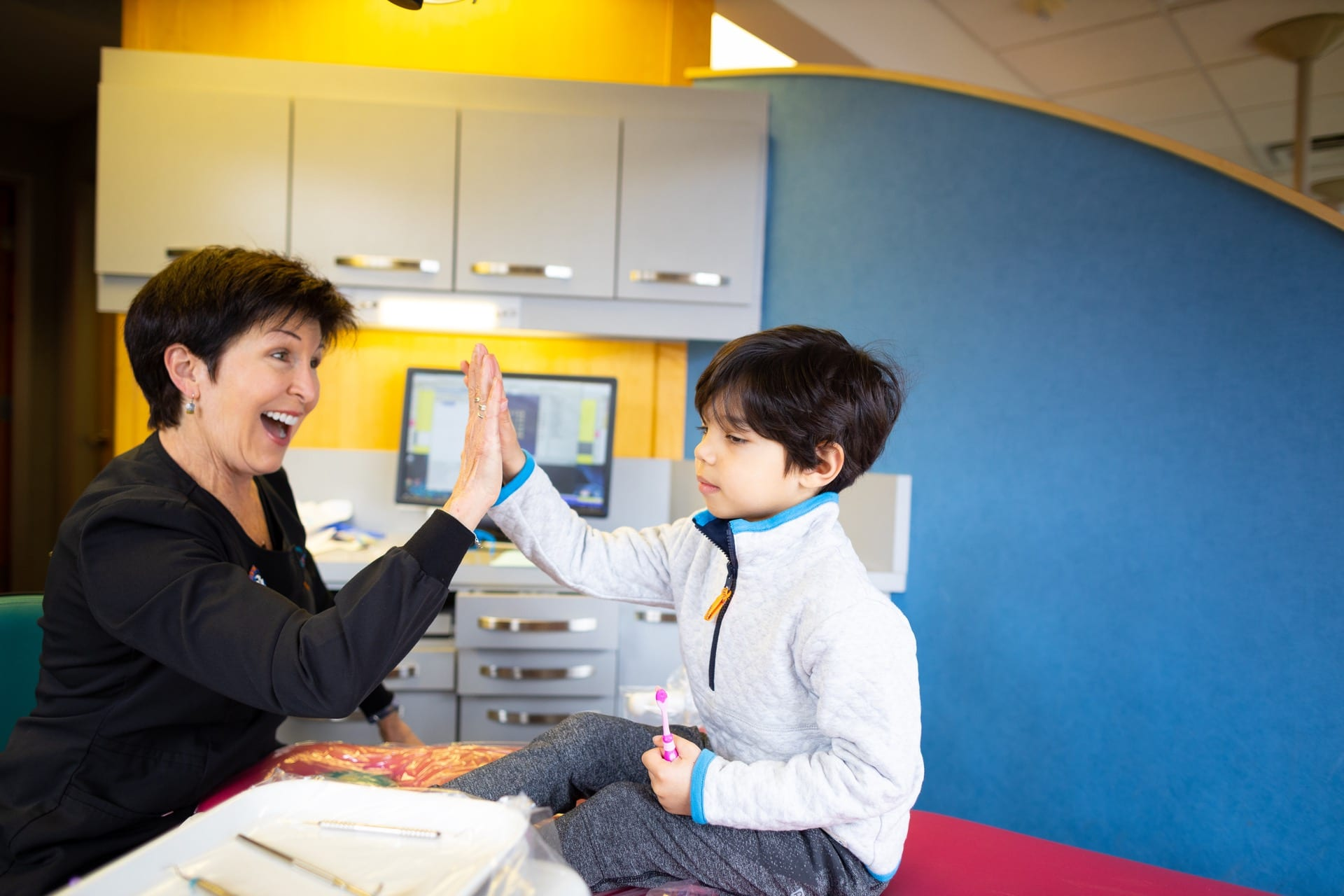 Patient Candids MyKidsDDS Dallas TX Dentist 35 - Preparing my child for a successful, positive dental experience!
