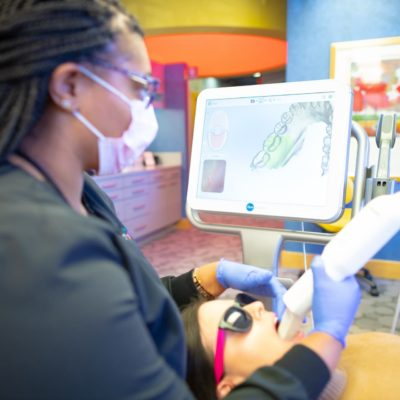 Signage and Tech MyKidsDDS Dallas TX Dentist 84 400x400 - Types of Braces