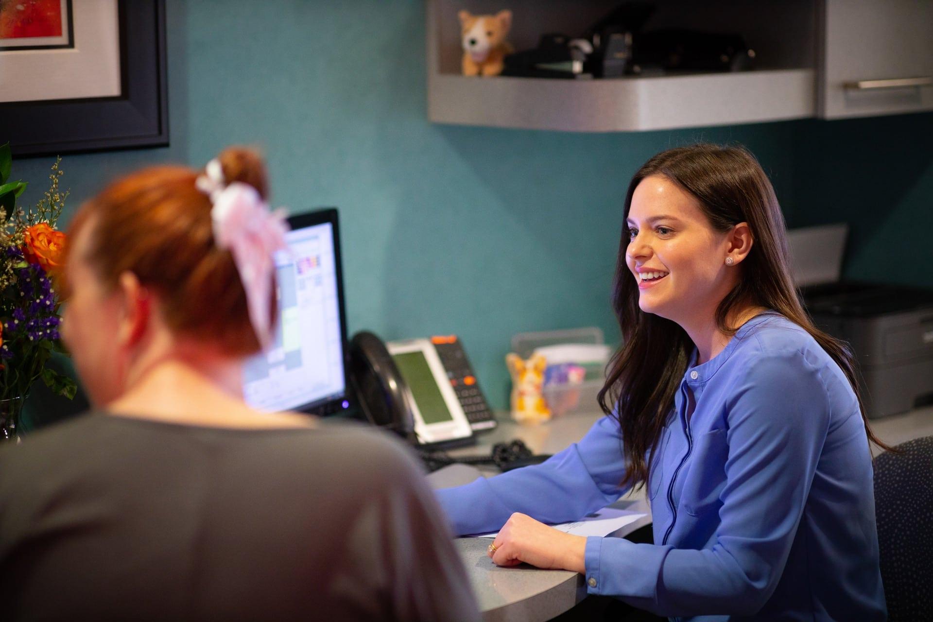 Staff Candids MyKidsDDS Dallas TX Dentist 105 - Financial Information
