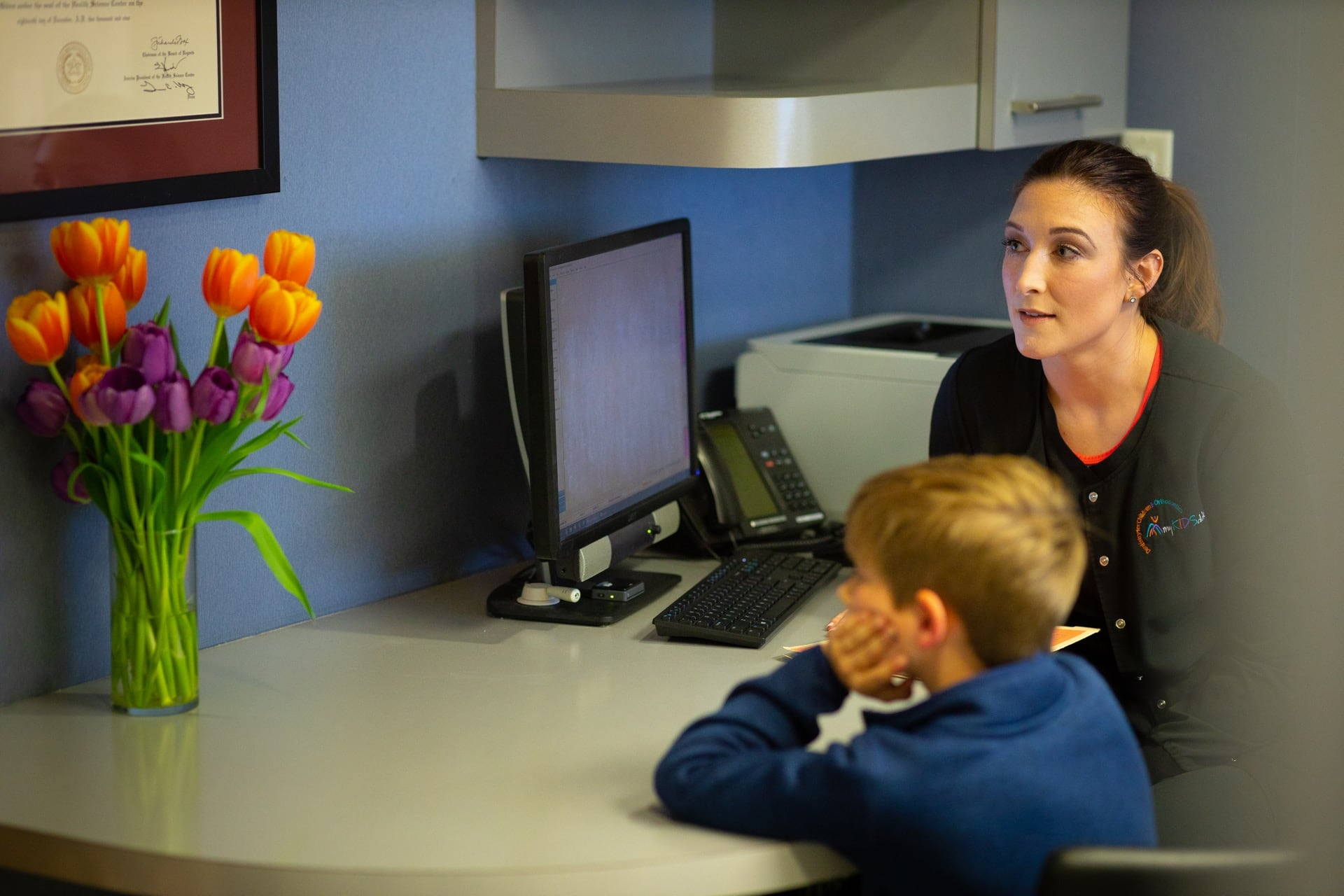 Staff Candids MyKidsDDS Dallas TX Dentist 77 - Common Questions About Pediatric Dentistry | Dallas, TX | myKIDSdds